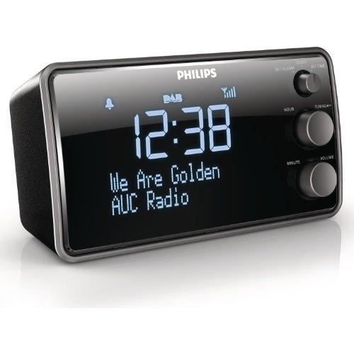 Philips AJB3552 Digitaler Radiowecker mit DAB+